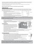 Skimmer Installation and Maintenance Guide Écumoire Notice d ... - Page 2