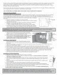 Skimmer Installation and Maintenance Guide Écumoire Notice d ... - Page 6