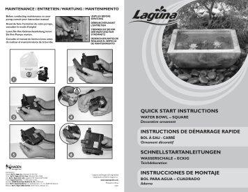 quick start instructions schnellstartanleitungen instructions de ...