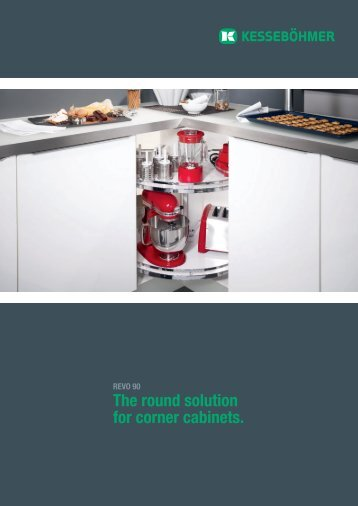 The round solution for corner cabinets. - LBA Thivel
