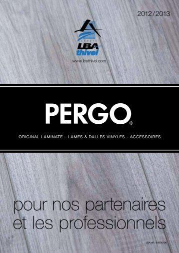 Catalogue LBA THIVEL / PERGO 2012-2013