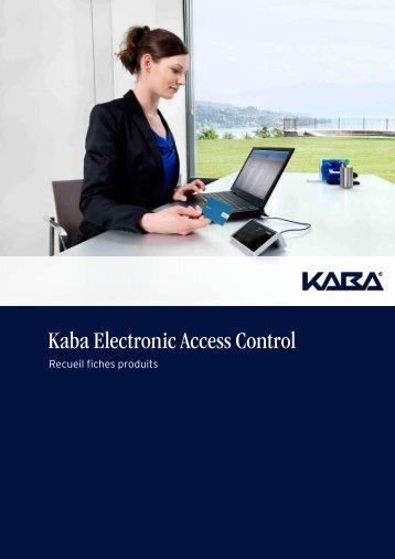 Catalogue Kaba Evolo - Courant faible et automatismes