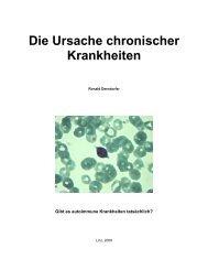 Die Ursache chronischer Krankheiten - Positiv-hiv-aids.de