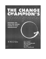 The Change Champion's Field Guide - Positive Deviance Initiative