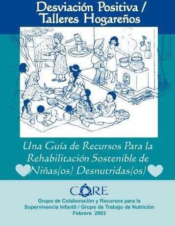 Una guía de recursos Para la Rehabilitación ... - CORE Group