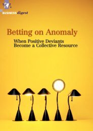 Betting on Anomaly - Positive Deviance Initiative