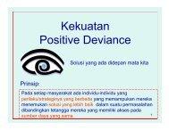 Penyelidikan PD - Positive Deviance