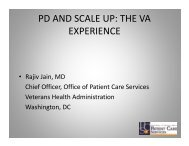 pd and scale up: the va experience - Positive Deviance Initiative