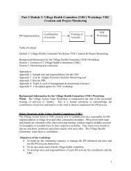 Module 3 - Positive Deviance Initiative