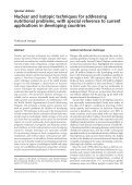 F&N Bulletin Vol 23 No 1b - United Nations University - Page 3