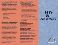 HIV AGING - Positive Living BC