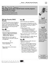 Old Age Security Programs - Positive Living BC