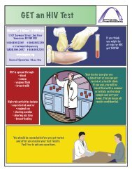 Get an HIV Test - Positive Living BC