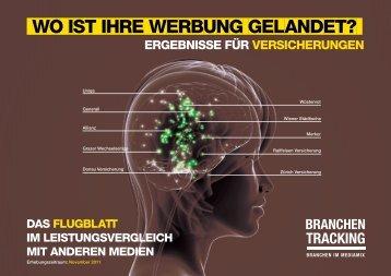 Branchen Tracking - Versicherungen - Österreichische Post AG