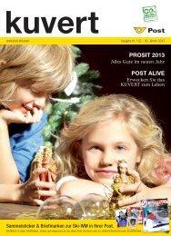 PROSIT 2013 POST ALIVE - Österreichische Post AG