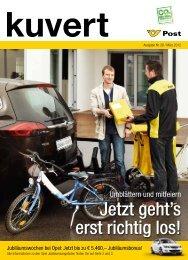 KUVERT - Ausgabe 28 - Österreichische Post AG