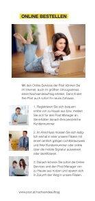 Wohin sie auch@@@ @@@ziehen - Österreichische Post AG - Seite 5