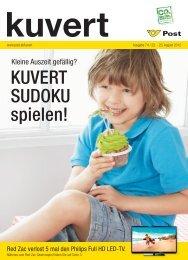 KUVERT SUDOKU spielen! - Österreichische Post AG