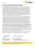 Informationsfolder zur Briefwahl - Österreichische Post AG - Page 2
