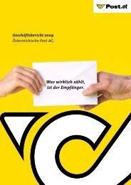 Geschäftsbericht 2009 - Österreichische Post AG