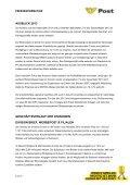 ÖSTERREICHISCHE POST AG: HALBJAHRESERGEBNIS 2010 - Page 6