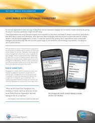going mobile with Compuware Changepoint