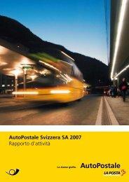 Se questo PDF - AutoPostale Svizzera SA