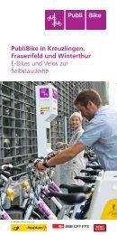 PubliBike in Kreuzlingen, Frauenfeld und Winterthur E ... - Postauto