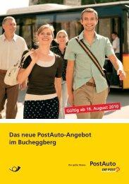 Das neue PostAuto-Angebot im Bucheggberg