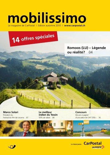 mobilissimo automneLe lien est ouvert dans une nouvelle ... - Postauto