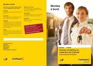 Information sur les carrièresLe lien est ouvert - Postauto