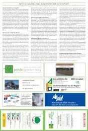 Infos zu Walking- und Wanderstrecken in Schupfart - Postauto