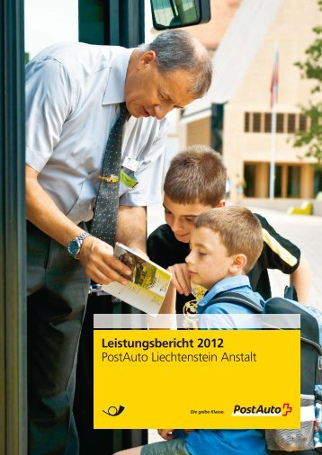 Leistungsbericht 2012 - Postauto