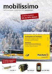 Sollte dieses PDF nicht zugänglich sein, melden - Postauto