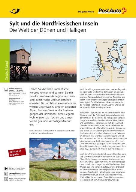Sylt und die Nordfriesischen Inseln - Postauto