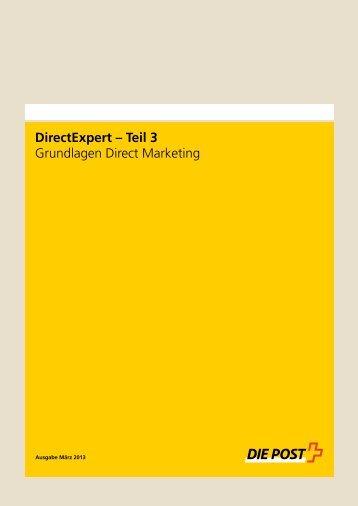 Grundlagen Direct Marketing - Postauto