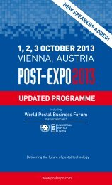 Download Conference Programme - Post-Expo