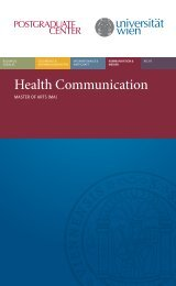 Health Communication-2013.pdf, Seiten 1-6 - Postgraduate Center