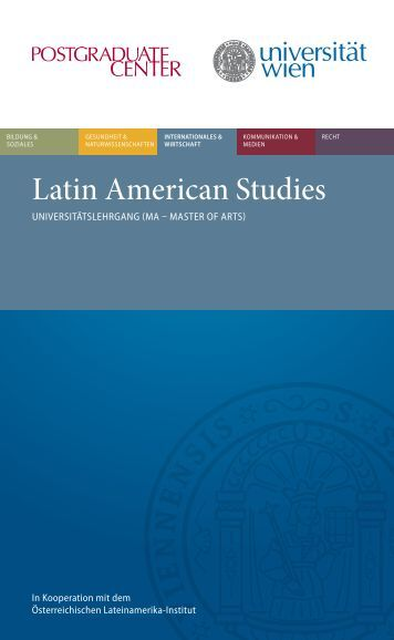 Latin American Studies - Postgraduate Center