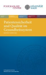 Folder Patientensicherheit.pdf, Seiten 1-6 - Postgraduate Center