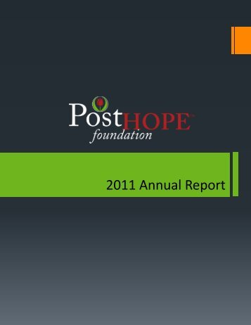 2011 Annual Report - Post Properties