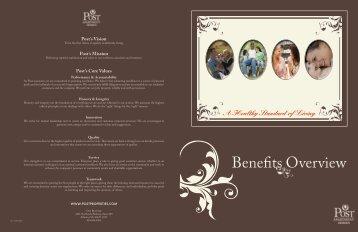 Benefits Overview - Post Properties