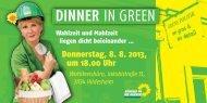 DINNER IN GREEN - Brigitte Pothmer, MdB