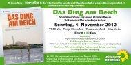 Flyer zum Filmabend