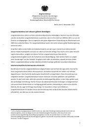 Brigitte Pothmers Auswertung der Antwort - Brigitte Pothmer, MdB