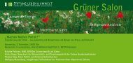 Einladungskarte Grüner Salon - Brigitte Pothmer, MdB