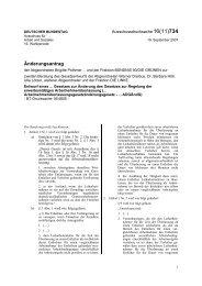 Änderungsantrag Arbeitnehmer - Brigitte Pothmer, MdB