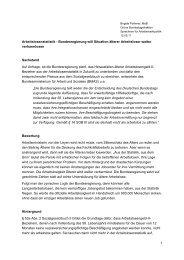 Arbeitslosenstatistik - Brigitte Pothmer, MdB