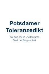 Potsdamer Toleranzedikt 2008 (PDF, 12 MB)