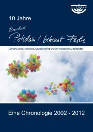 PDF-Datei als Download, 7,5 MB - Potsdam bekennt Farbe